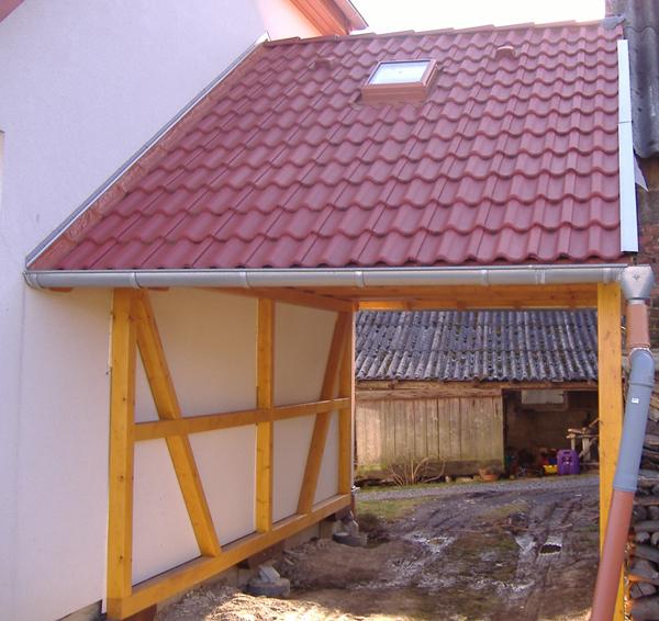 Zimmerei Carport: Individueller Blockhausbau